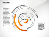 Infographics: Round Infographics Elements #02498