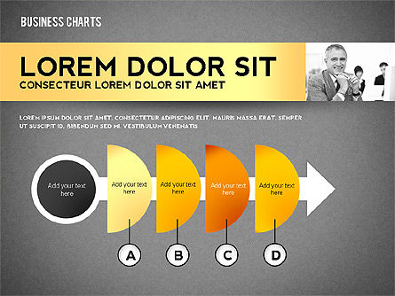 Colorful Business Charts Collection, Slide 12, 02499, Business Models — PoweredTemplate.com