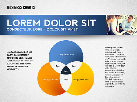 Colorful Business Charts Collection, Slide 6, 02499, Business Models — PoweredTemplate.com
