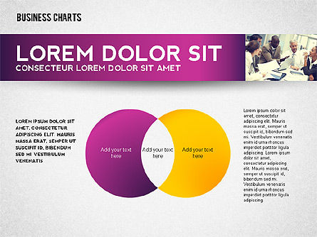 Colorful Business Charts Collection, Slide 7, 02499, Business Models — PoweredTemplate.com