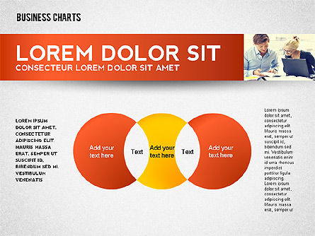 Colorful Business Charts Collection, Slide 8, 02499, Business Models — PoweredTemplate.com