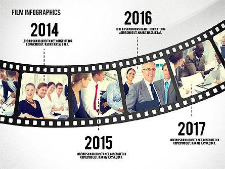 Film Reel Infographics, Slide 7, 02500, Infographics — PoweredTemplate.com