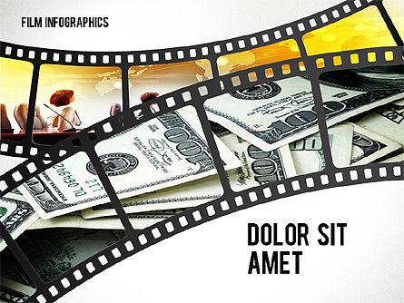Film Reel Infographics, Slide 8, 02500, Infographics — PoweredTemplate.com