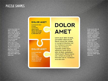 Puzzle Infographics Shapes, Slide 11, 02504, Puzzle Diagrams — PoweredTemplate.com