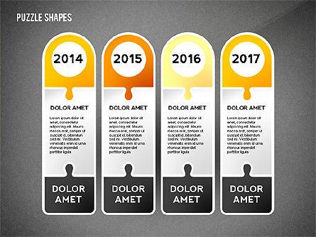 Puzzle Infographics Shapes, Slide 16, 02504, Puzzle Diagrams — PoweredTemplate.com