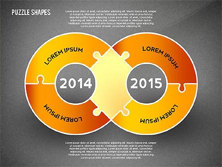 Puzzle Infographics Shapes, Slide 9, 02504, Puzzle Diagrams — PoweredTemplate.com