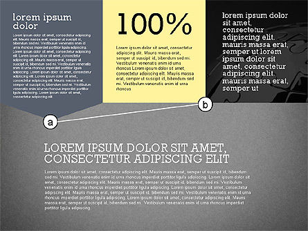 Presentation with Connections in Flat Design, Slide 11, 02507, Presentation Templates — PoweredTemplate.com