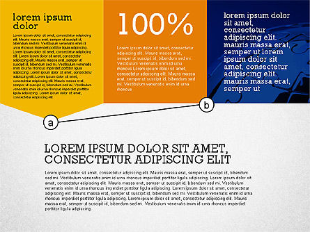 Presentation with Connections in Flat Design, Slide 3, 02507, Presentation Templates — PoweredTemplate.com
