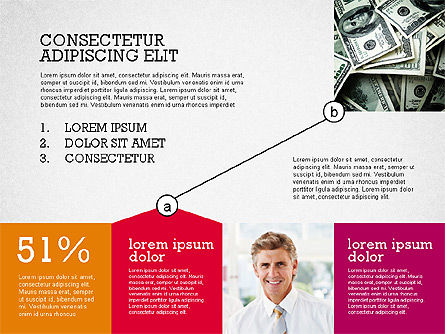 Presentation with Connections in Flat Design, Slide 5, 02507, Presentation Templates — PoweredTemplate.com