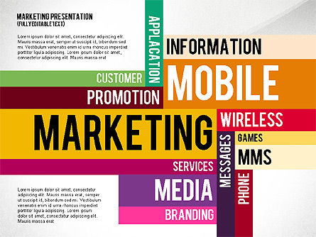 Mobile Marketing Presentation Template For Powerpoint Presentations