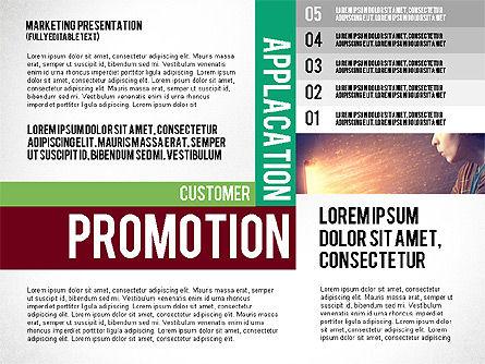 Mobile Marketing Presentation Template, Slide 4, 02509, Presentation Templates — PoweredTemplate.com