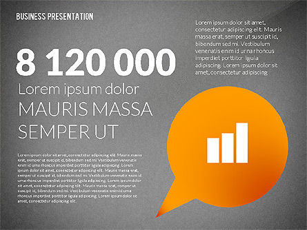 Presentation in Inforgraphics Style, Slide 10, 02511, Presentation Templates — PoweredTemplate.com