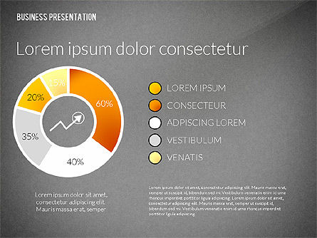 Presentation in Inforgraphics Style, Slide 11, 02511, Presentation Templates — PoweredTemplate.com