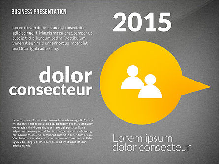 Presentation in Inforgraphics Style, Slide 13, 02511, Presentation Templates — PoweredTemplate.com