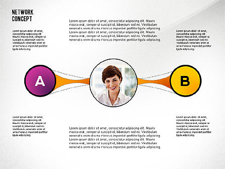 Business Networking, Slide 4, 02513, Presentation Templates — PoweredTemplate.com