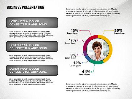Business Team Player Efficiency Presentation Template, Slide 2, 02516, Presentation Templates — PoweredTemplate.com