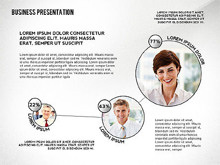 Business Team Player Efficiency Presentation Template, Slide 4, 02516, Presentation Templates — PoweredTemplate.com