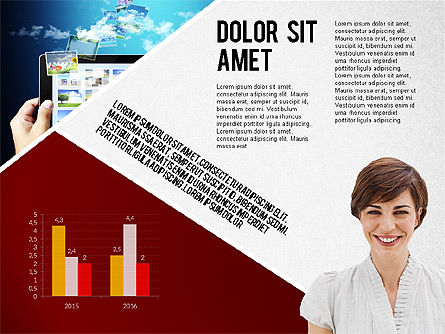 Modern Style Business Presentation Template , 02518, Presentation Templates — PoweredTemplate.com