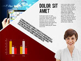 Presentation Templates: Modern Style Business Presentation Template  #02518