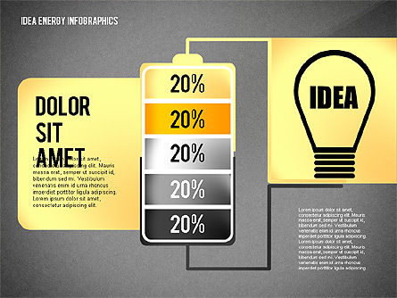 Idea Energy Infographics, Slide 10, 02525, Infographics — PoweredTemplate.com