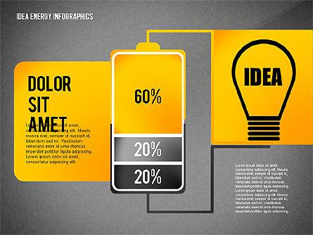 Idea Energy Infographics, Slide 12, 02525, Infographics — PoweredTemplate.com