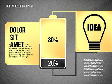 Idea Energy Infographics, Slide 13, 02525, Infographics — PoweredTemplate.com