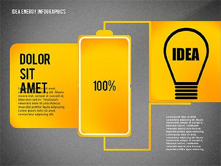 Idea Energy Infographics, Slide 14, 02525, Infographics — PoweredTemplate.com