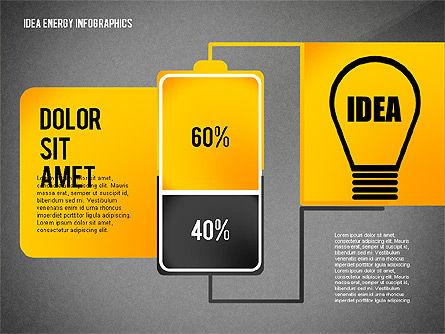 Idea Energy Infographics, Slide 15, 02525, Infographics — PoweredTemplate.com