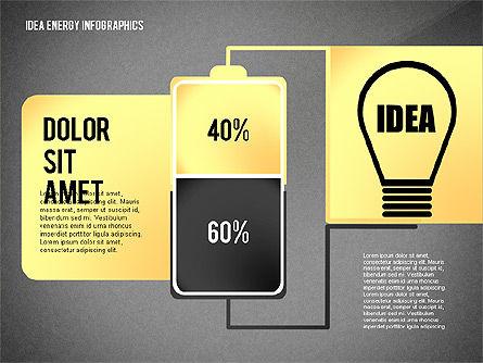 Idea Energy Infographics, Slide 16, 02525, Infographics — PoweredTemplate.com