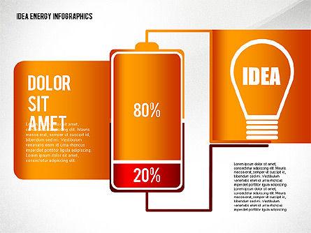 Idea Energy Infographics, Slide 5, 02525, Infographics — PoweredTemplate.com