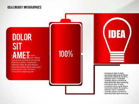 Idea Energy Infographics, Slide 6, 02525, Infographics — PoweredTemplate.com