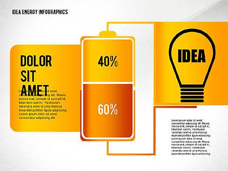 Idea Energy Infographics, Slide 8, 02525, Infographics — PoweredTemplate.com