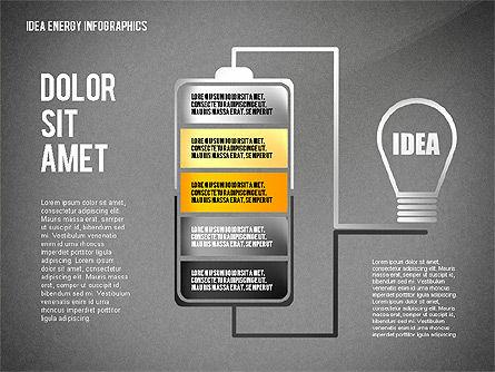 Idea Energy Infographics, Slide 9, 02525, Infographics — PoweredTemplate.com