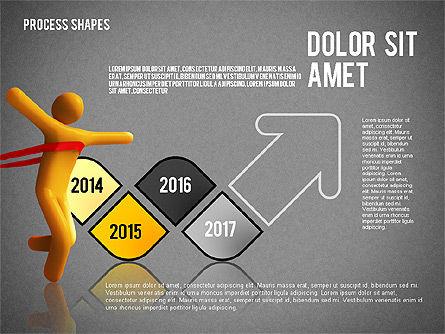 Success Timeline, Slide 13, 02526, Timelines & Calendars — PoweredTemplate.com