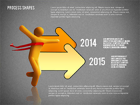 Success Timeline, Slide 15, 02526, Timelines & Calendars — PoweredTemplate.com