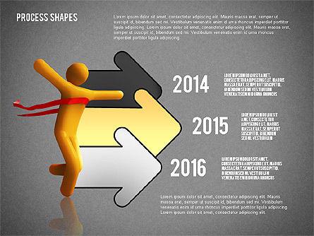 Success Timeline, Slide 16, 02526, Timelines & Calendars — PoweredTemplate.com
