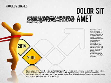 Success Timeline, Slide 3, 02526, Timelines & Calendars — PoweredTemplate.com