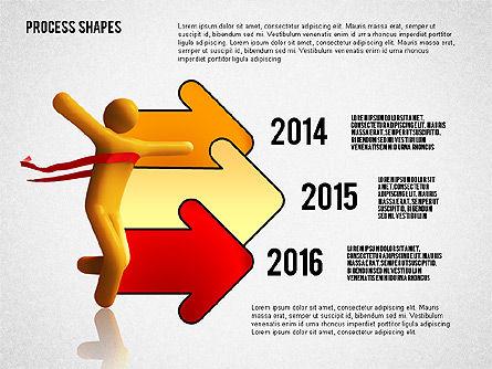 Success Timeline, Slide 8, 02526, Timelines & Calendars — PoweredTemplate.com