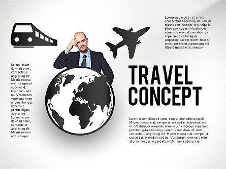 Travel Options, 02528, Presentation Templates — PoweredTemplate.com