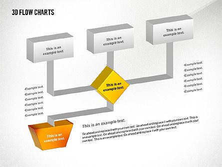 3D Flowchart Toolbox Slide 3