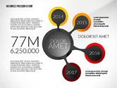 Presentation Templates: Business Presentation in Infographic Style #02531