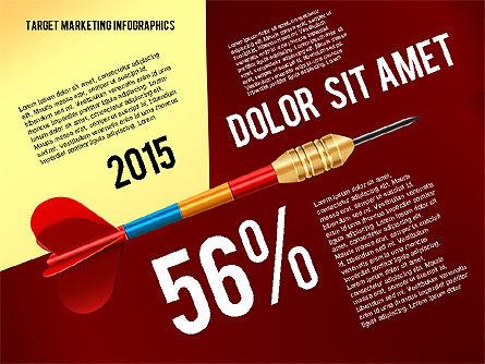 Target Marketing Infographics, Slide 2, 02534, Presentation Templates — PoweredTemplate.com
