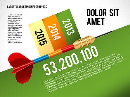 Target Marketing Infographics, Slide 3, 02534, Presentation Templates — PoweredTemplate.com