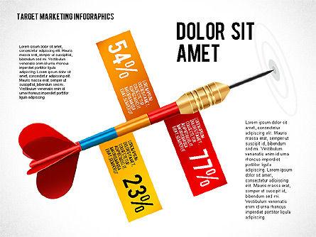 Target Marketing Infographics, Slide 4, 02534, Presentation Templates — PoweredTemplate.com
