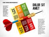 Presentation Templates: Target Marketing Infographics #02534