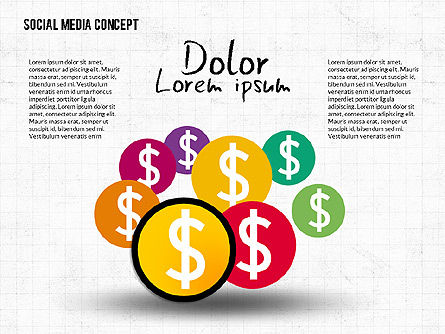 Social Media Network Concept, Slide 2, 02535, Presentation Templates — PoweredTemplate.com
