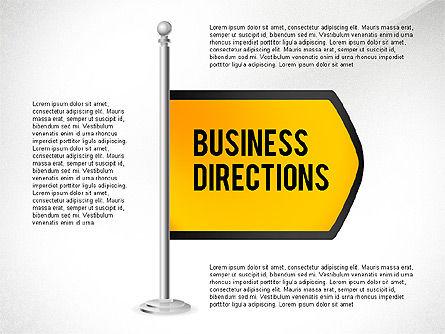 Text Boxes: Business Directions #02536
