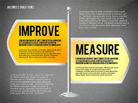 Business Directions, Slide 11, 02536, Text Boxes — PoweredTemplate.com