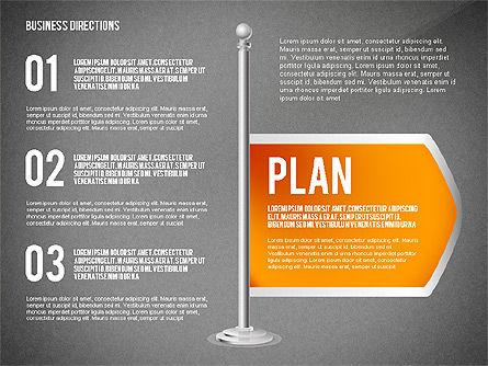 Business Directions, Slide 16, 02536, Text Boxes — PoweredTemplate.com