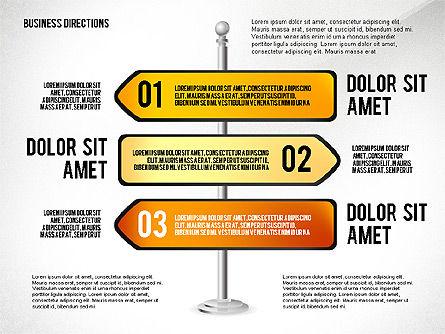 Business Directions, Slide 5, 02536, Text Boxes — PoweredTemplate.com
